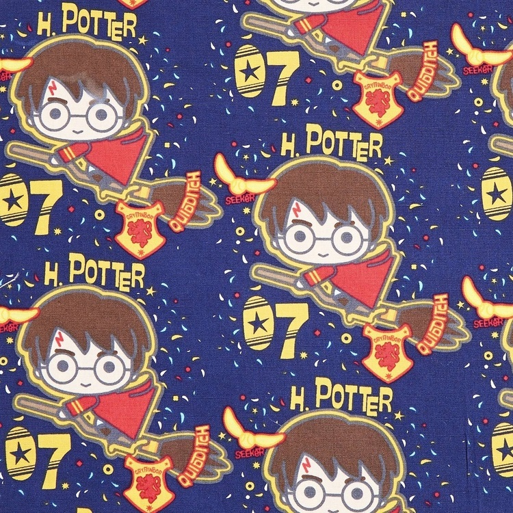 Harry Potter Quidditch Poplin Fabric