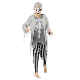 Spooky Hollow Boy's Zombie Pirate Costume