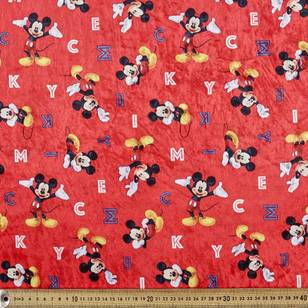 Mickey Panne All over Fabric