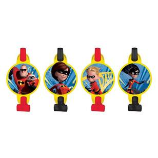Disney Incredibles 2 Blowouts 8 Pack
