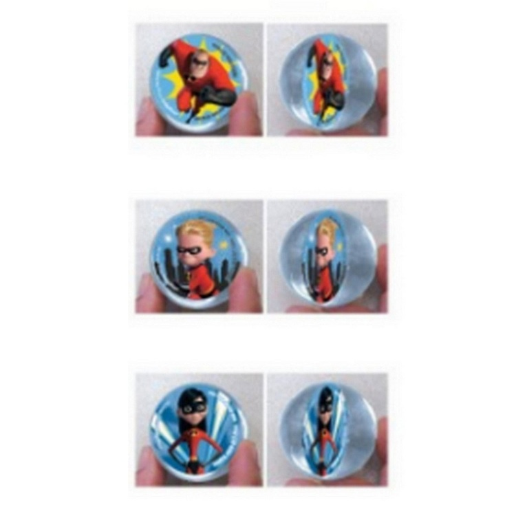Disney Incredibles 2 Bounce Balls 6 Pack