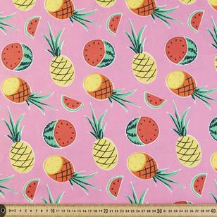 Fruit Salad Printed Poplin Fabric