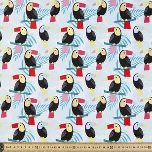 Toucan Printed Poplin Fabric