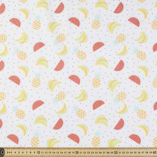 Fruits Printed Poplin Fabric