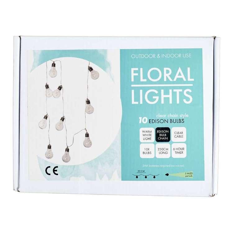 Floral Light Garland