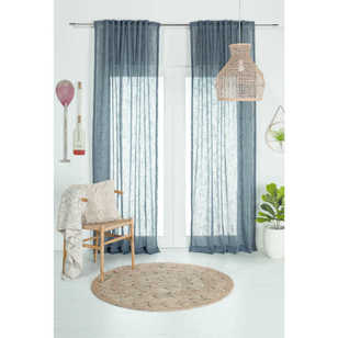 Harbour Multi Header Sheer Curtain