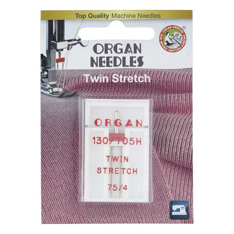 Organ Twin Stretch Needle