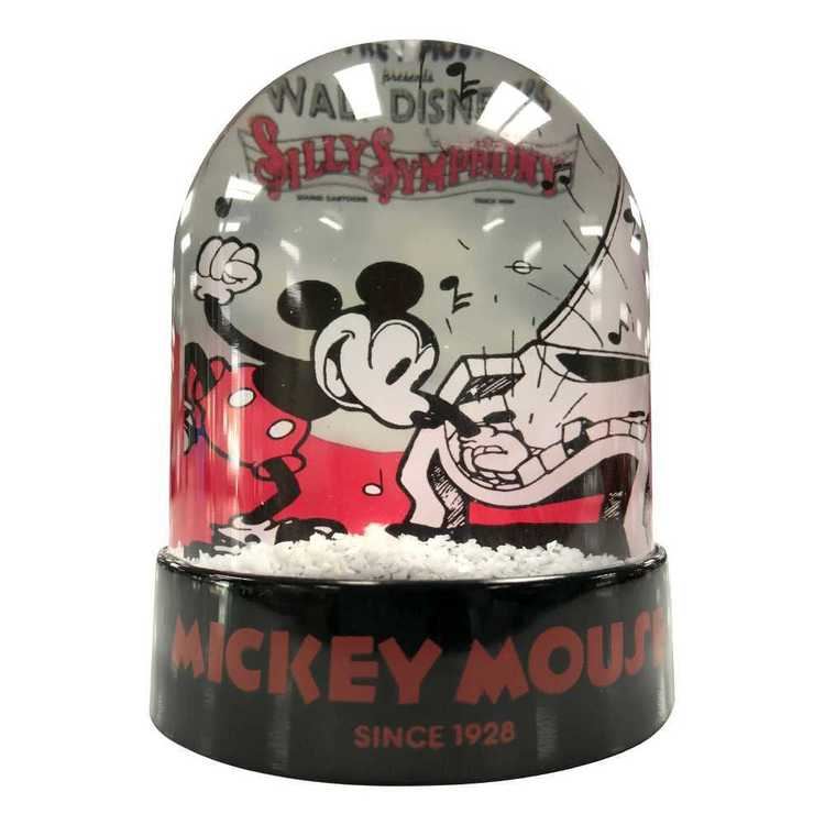 Disney Christmas Mickey Snow Dome Red