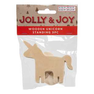 Jolly & Joy Standing Wooden Unicorn Pack
