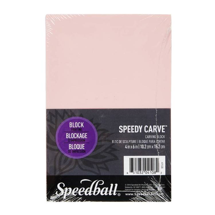 Speedball Speedy Carve Block 4 x 6 in