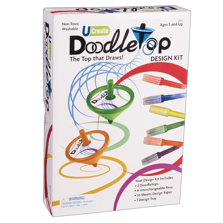 U Games Australia Doodletop Design Kit Multicoloured