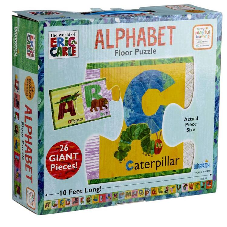 The World Of Eric Carle Eric Carle Alphabet Floor Puzzle  Multicoloured