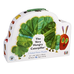 The World Of Eric Carle Caterpillar 2-Sided Floor Puzzle