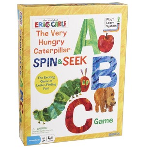 The World Of Eric Carle Caterpillar, Spin & Seek Abc Game