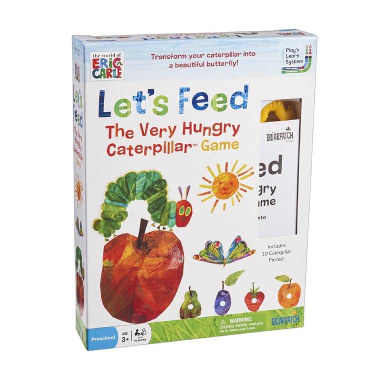 The World Of Eric Carle Let'S Feed Very Hungry Caterpillar Game