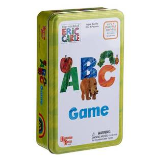 The World Of Eric Carle Eric Carle Abc Tin Game