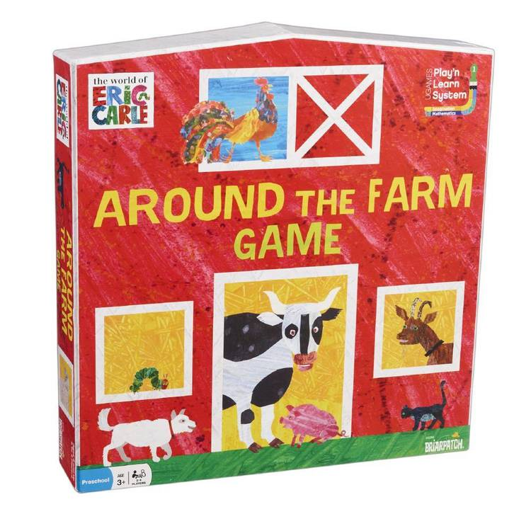 The World Of Eric Carle Eric Carle Around The Farm Game