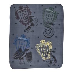 Harry Potter House Teams Throw