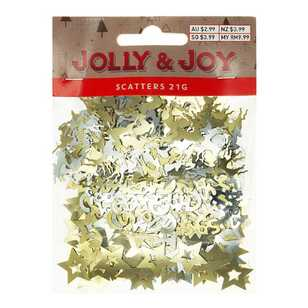 Jolly & Joy Gold and Silver Scatter