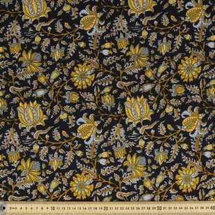 Printed Rayon Filgree Fabric