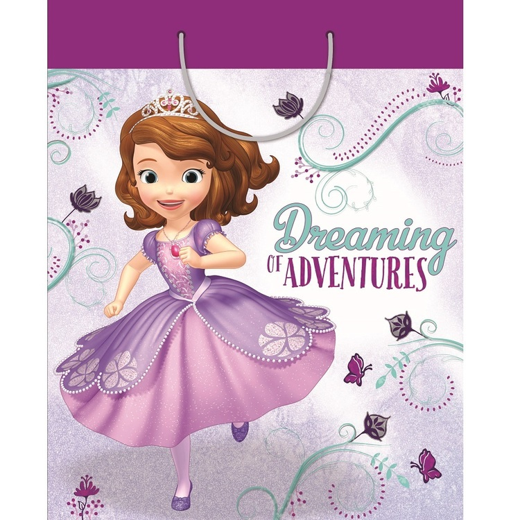 Artwrap Gift Bag Giant Disney Sophia the First