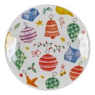Ashdene Christmas Bauble Plate