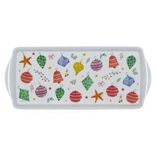 Ashdene Christmas Bauble Sandwich Tray
