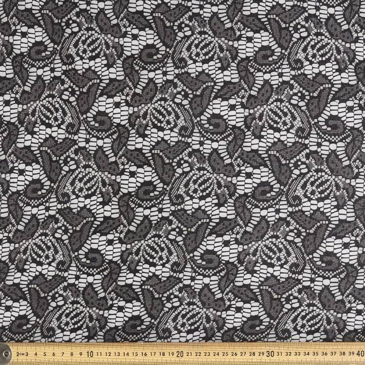 Metallic Lace Fabric