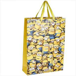 Artwrap Gift Bag Large Universal Pictures Minions