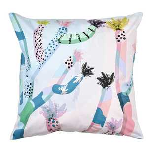 Ombre Home Pastel Abstract Celeste Cactus Cushion