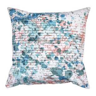 Ombre Home Pastel Abstract Serenity Grafitti Cushion