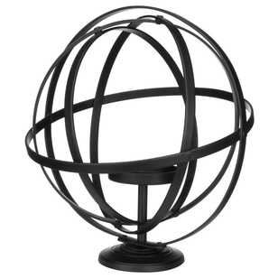 Bouclair Industrial Artefacts Sphere Candle Holder