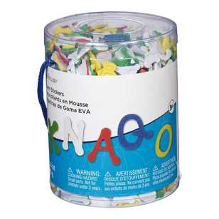 Creatology Foam Alphabet Dot Stickers Bucket