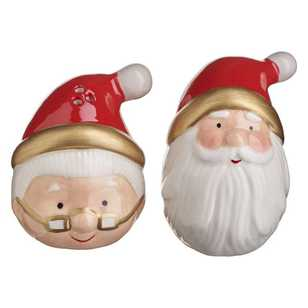 Kitch & Co Mr & Mrs Claus Salt N Pepper