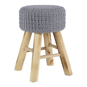 Ombre Home Pastel Abstract Crochet Stool