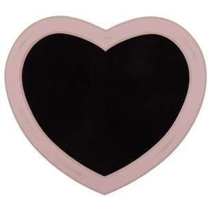 Bouclair Luna Heart Shape Chalk Board