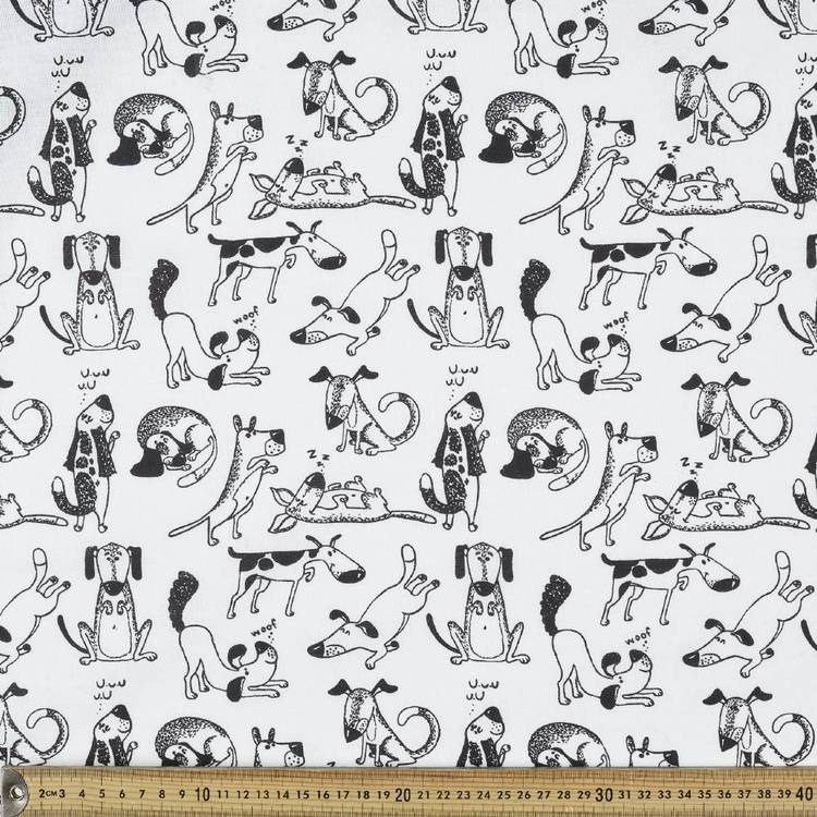 Dogzz Patterned Multi Purpose Fabric - Everyday Bargain