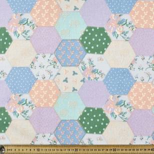 Meadow Patterned Multi Purpose Fabric - Everyday Bargain