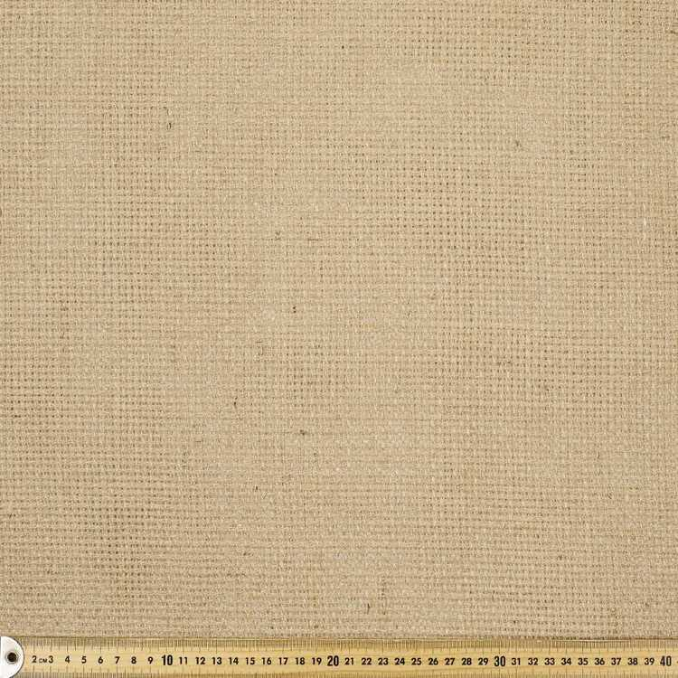 Basketweave Hessian Fabric