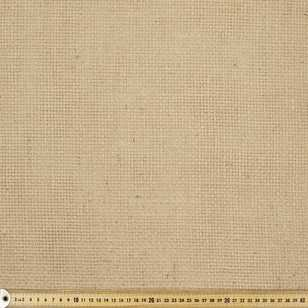 Basketweave Hessian Fabric