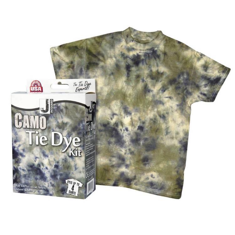 Jacquard Camouflage Tie Dye Kit