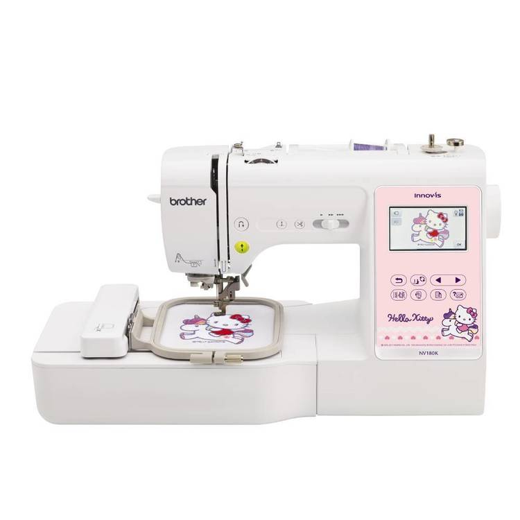 Brother NV180K Hello Kitty 3-in-1 Embroidery Machine White