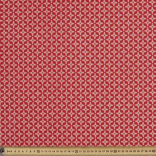 Scandi Christmas Tile Quilting Fabric