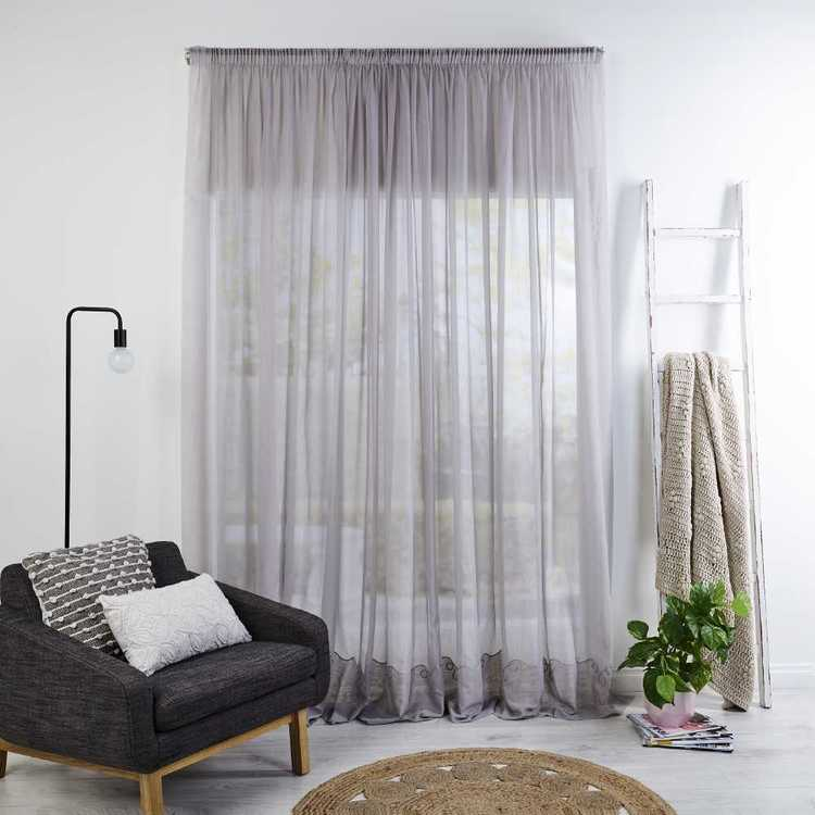 Filigree Empire Cornelli Easy Sheer Curtain Fabric