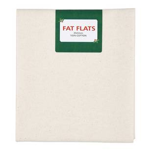Scandi Christmas Plain Flat Fats Fabric