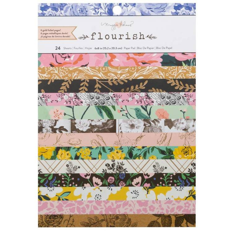 American Crafts Flourish Paper Pad