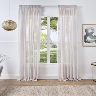 Grosvenor Lynx Pencil Pleat Sheer Curtain
