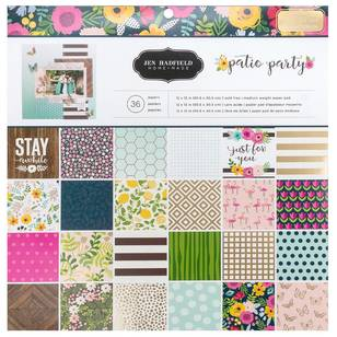 American Crafts Jen Hadfield Patio Party Paper Pad