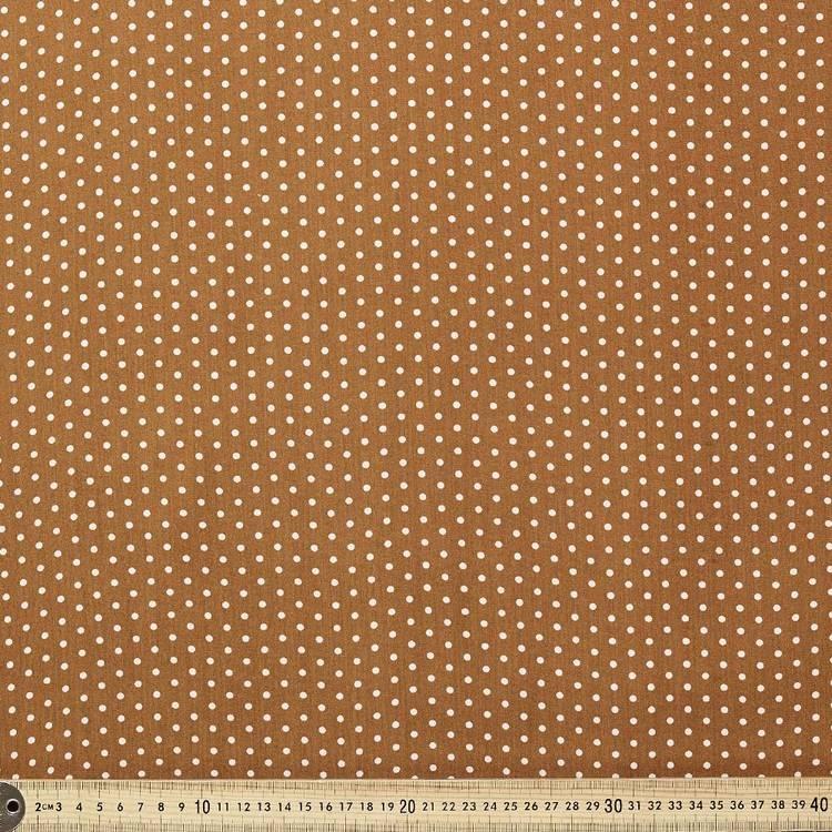 Printed Rayon Small Spot Fabric