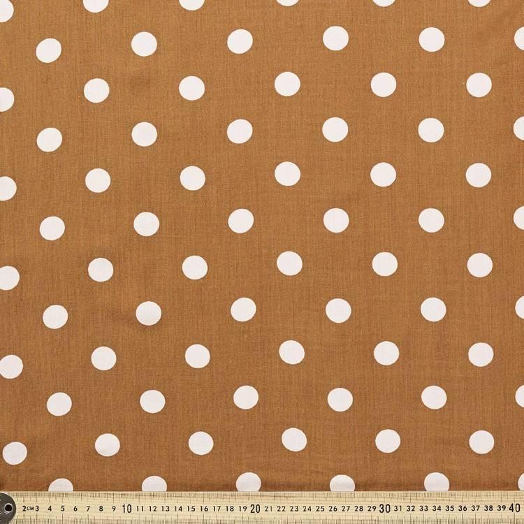 Printed Rayon Big Spot Fabric
